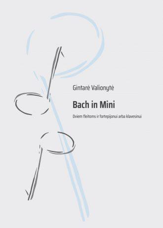 Viršelis. Bach in mini