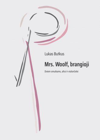 Viršelis. Mrs Woolf